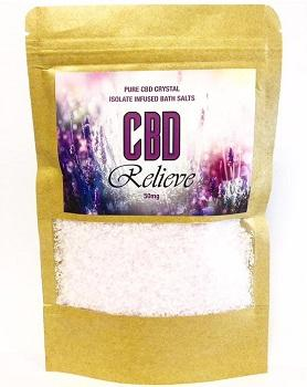 175g Infused Bath Salts – 50mg__ (1)
